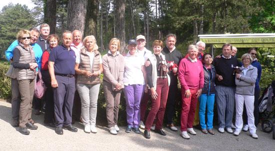 Le Grand Club à Hardelot, tout souriant après trois journées de golf.