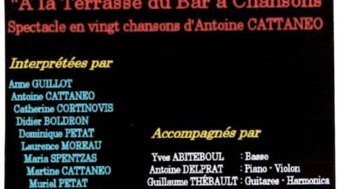 Antoine en concert!