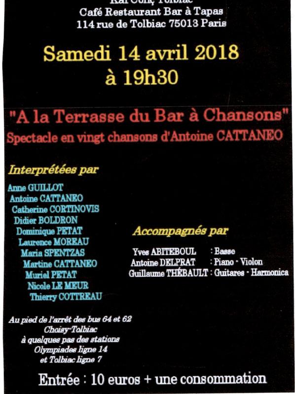 Antoine en concert !