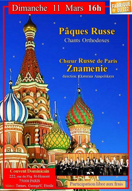 Concert Russe !