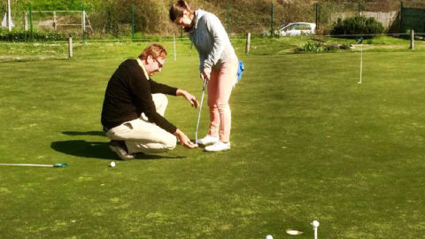 Stage de putting avec Laurent Jockschies
